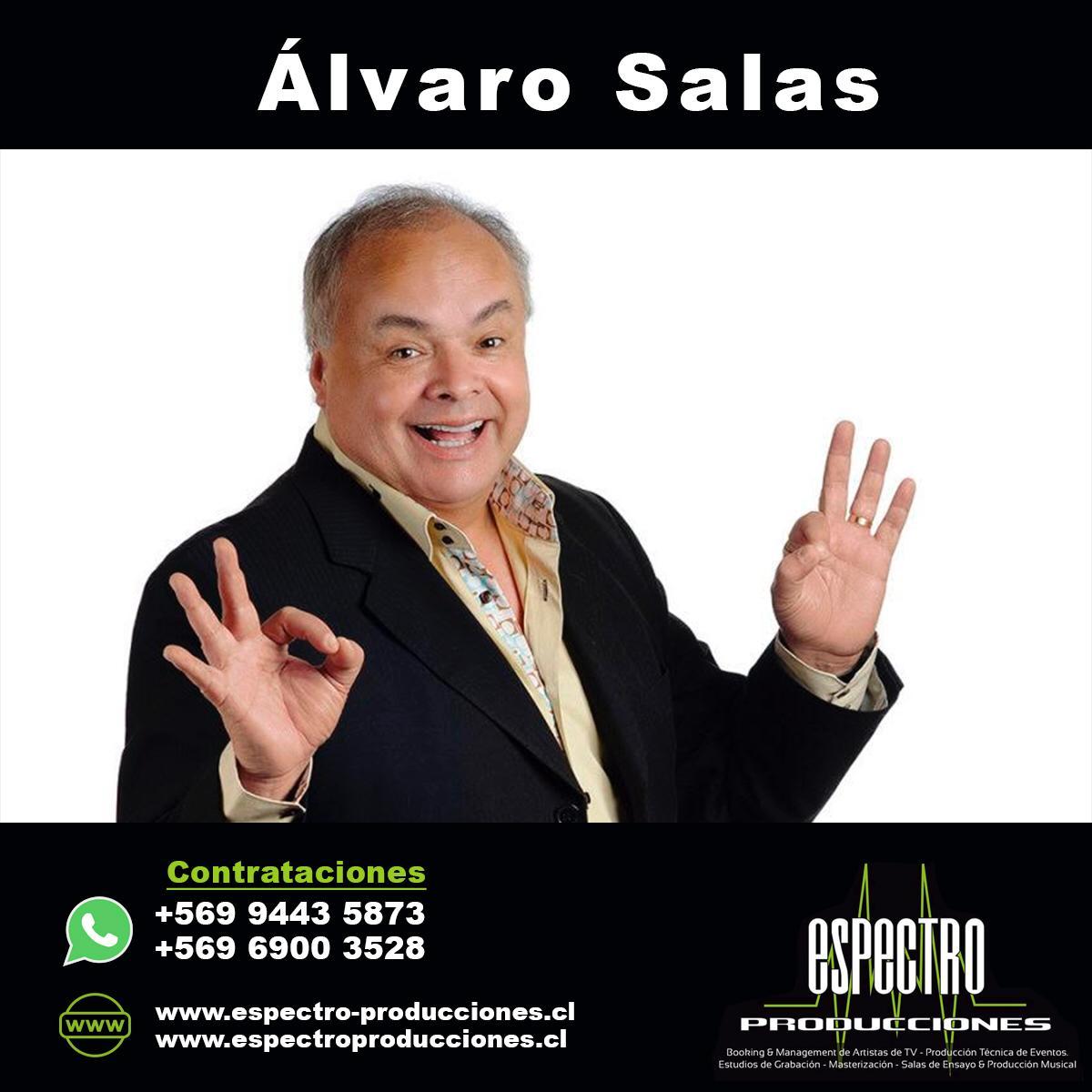 Humorista Alvaro Salas