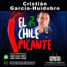 Humorista Cristián García-Huidobro