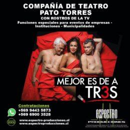 Obra de teatro: Mejor es de a Tres